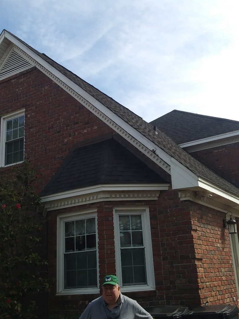 Wilmington, NC - Replace 16 wood windows by Andersen estimate with energy efficient lifetime warranty windows. Estimate for entry door, replace with hurricane rated lifetime Provia with privacy glass and upgraded security options and electronic locks. Repair storm damaged soffit and fascia.