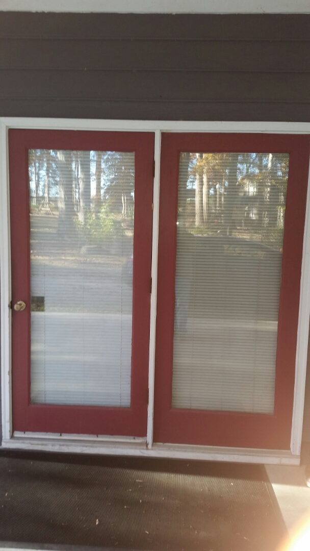 Zebulon, NC - Future project removing existing French door and replacing with new French door.