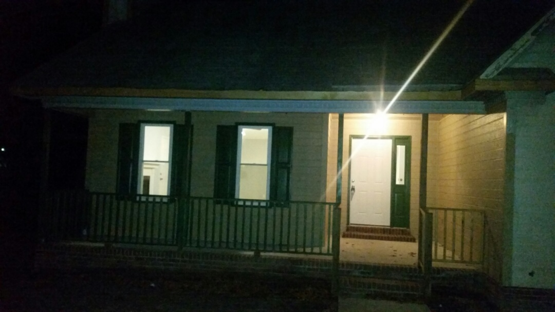 Fayetteville, NC - Home remodel in Fayetteville repeat investor. Working in the dark to get the job done