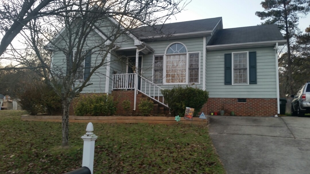 Garner, NC - Future Garner project removing 4 wooden windows and installing 4 vinyl replacement windows. Low E and Argon gas