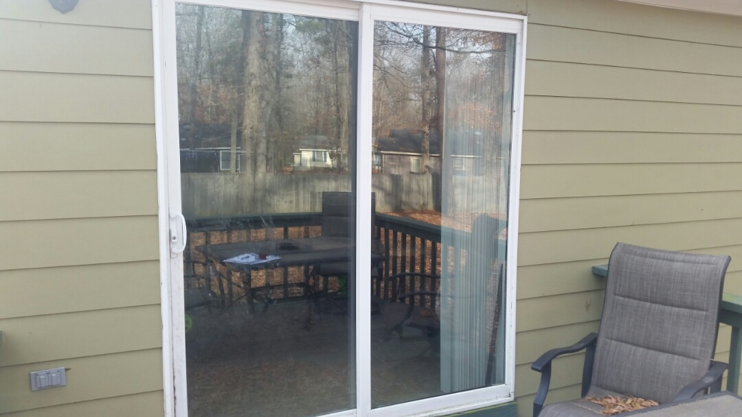 Wendell, NC - Future project removing vinyl sliding patio door and will install new French door