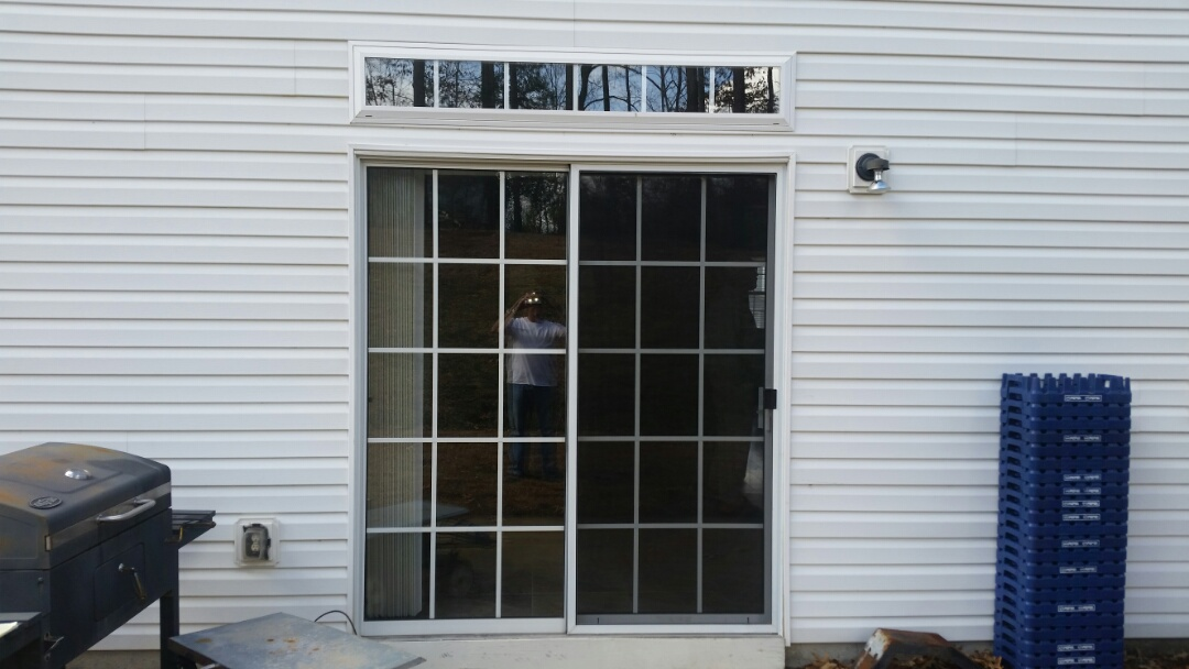 Garner, NC - Future project replacing current sliding patio door with new hinged French door
