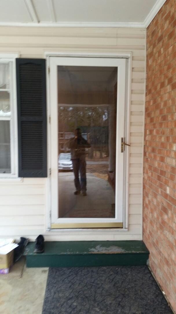 Knightdale, NC - Future door project will be replacing two exterior doors and one storm door
