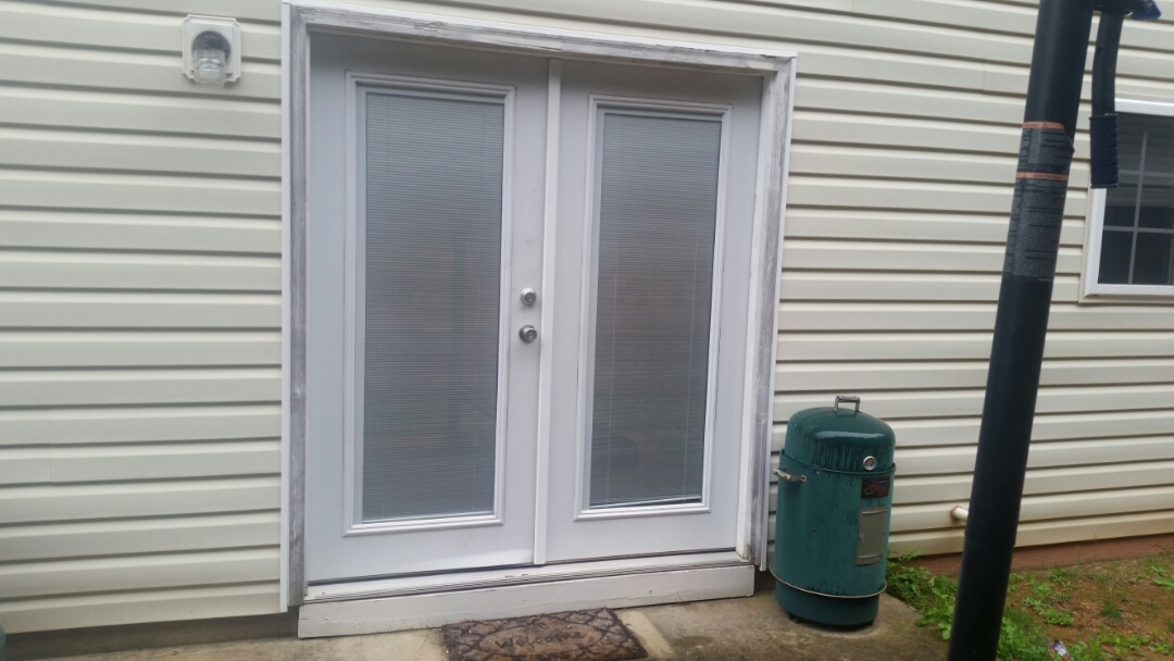 Clayton, NC - The future project will be replacing current French patio door with new French patio door