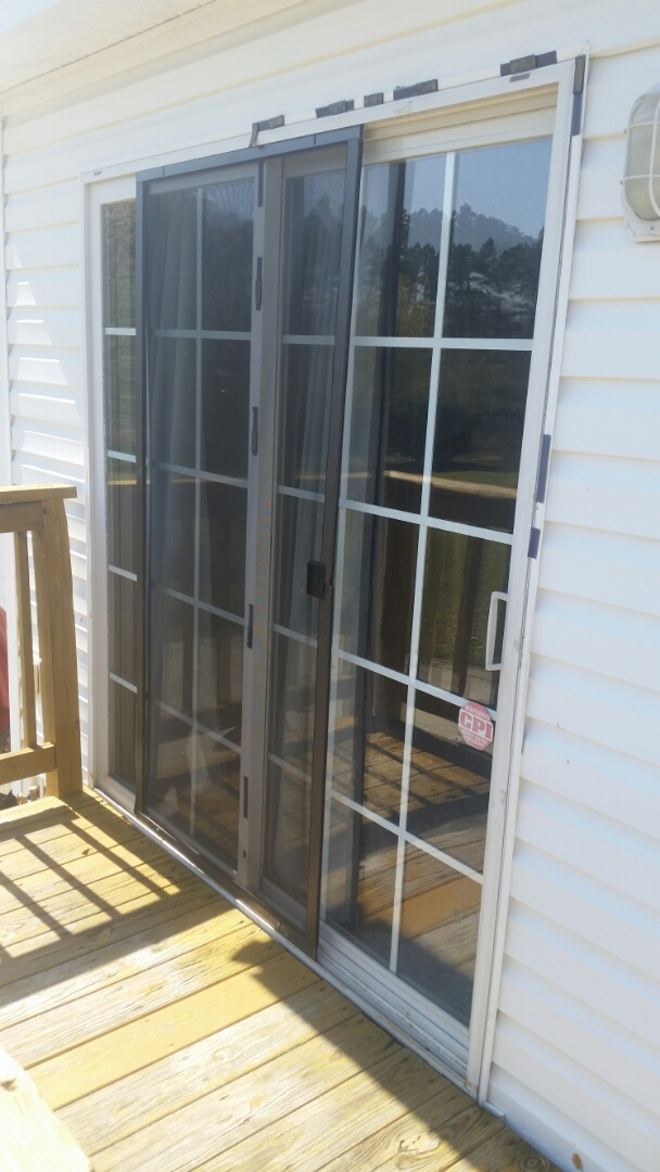 Zebulon, NC - Future project replacing a aging patio door with a new vinyl sliding patio door