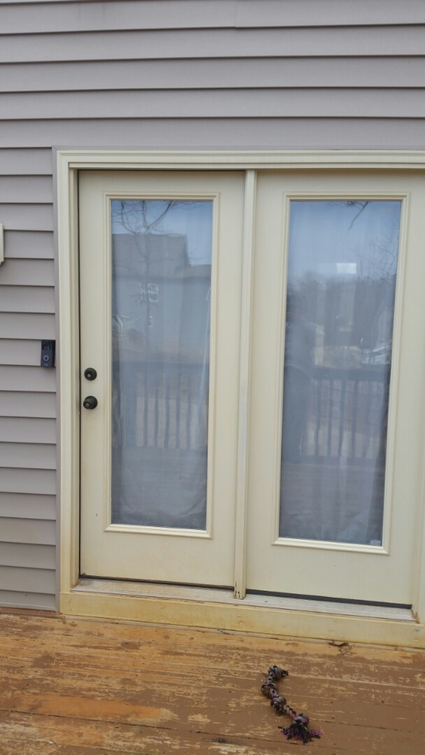 Clayton, NC - Future project replacing current inswing French door with new outswing French door