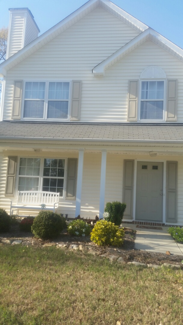 Fuquay Varina, NC - Upcoming project in Fuquay Varina. Removing 11 aging vinyl windows, and replacing with 11 new vinyl replacement windows. Windows will have insulated frame and sash and Ultraflect reflectivity