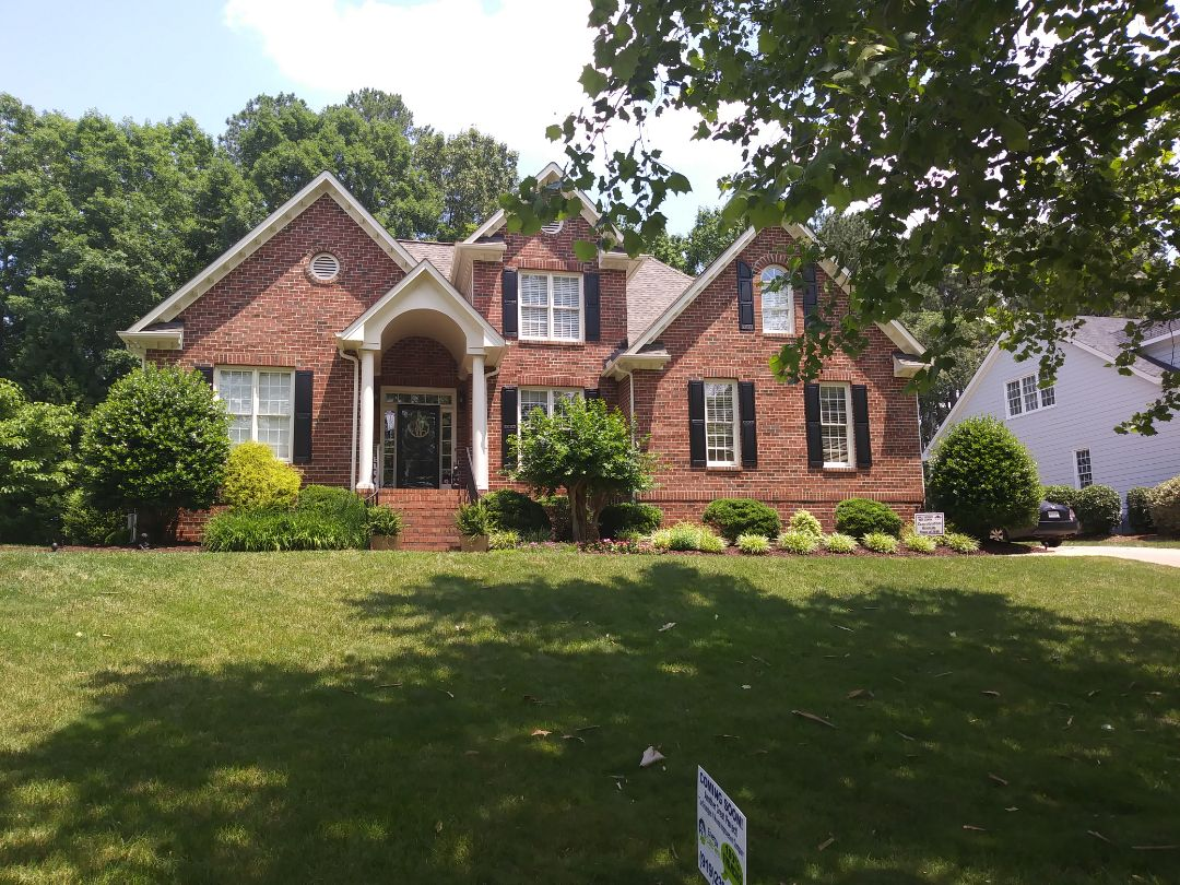 Holly Springs, NC - Future project in Holly Springs. Removing 10 aging Anderson wood windows and replacing with 10 energy star rated vinyl replacement windows. Also replacing wooden patio door with new steel patio door
