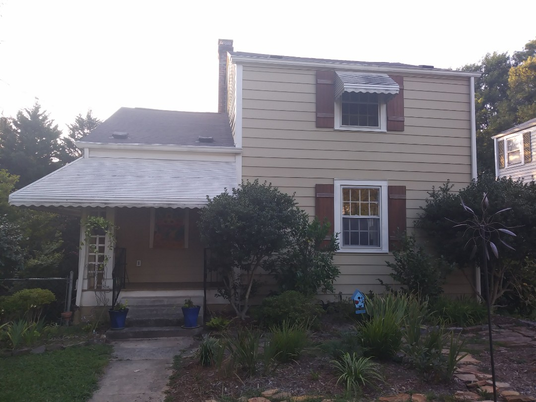 Raleigh, NC - Future project in downtown Raleigh. Removing 10 old time weighted wood windows and 10 storm windows. Replacing with 10 energy star rated vinyl replacement windows. Insulated frame and sash and Ultraflect reflectivity.