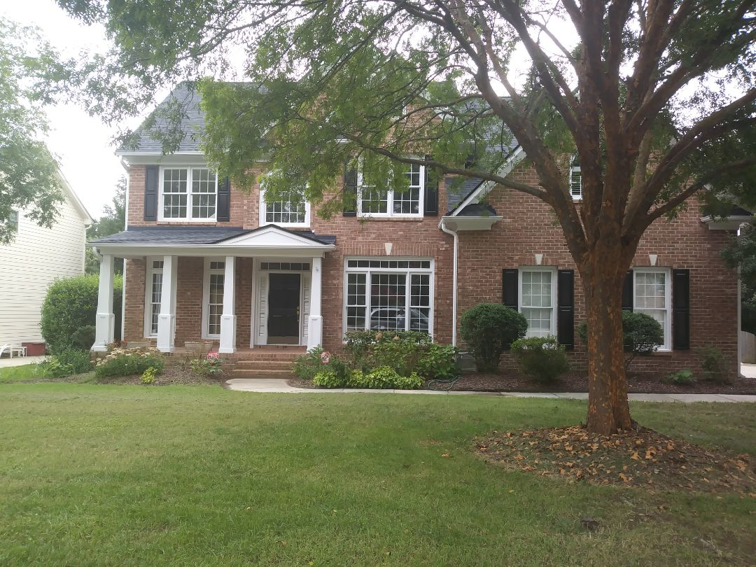 Cary, NC - Upcoming project in Cary. Removing 7 Pella wood windows and replacing with seven energy efficient insulated frame and sash vinyl replacement windows. Also replacing 7 sills and nosing due to wood rot.