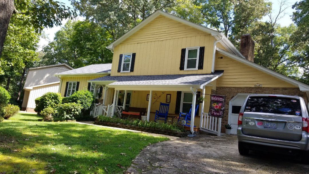 Raleigh, NC - Expecting a roofer at making sure it's ready for Hurricane Florence