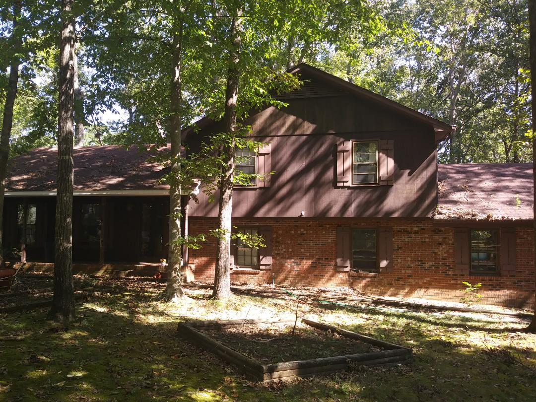 Cary, NC - Upcoming project in Cary. Replacing aging roof with new 30-year architectural shingles. Replacing some wood rot affected fascia board and also replacing siding on the house with new Hardie siding