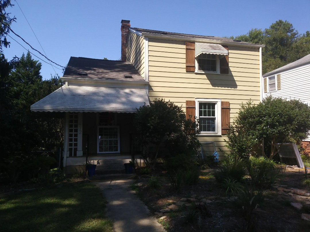 Cary, NC - Current project in Raleigh. Removed 10 wood windows affected by wood rot and replaced with 10 energy star rated vinyl replacement windows. Insulated frame and sash.