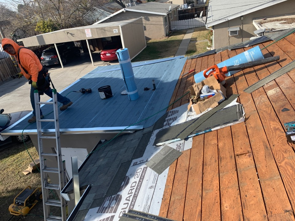 Tracy, CA - Tear off two layers of composition install IKO cool roof Harvard Slate