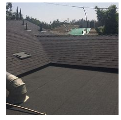 San Bernardino, CA - reroof done. Used Owens Corning Mountainside