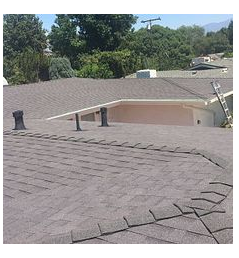 Loma Linda, CA - New shingle roof in color Night Sky