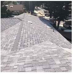 Loma Linda, CA - New shingle roof in color Sierra Gray