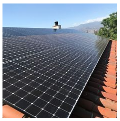 Redlands, CA - Solar installation/ TPO repair on tile roof