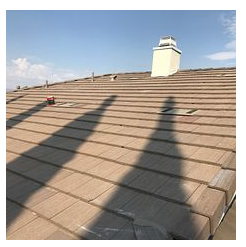 Loma Linda, CA - Re-felt on tile roof