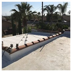 Fontana, CA - New roof with TPO