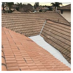 Rancho Cucamonga, CA - Tile/cricket repair