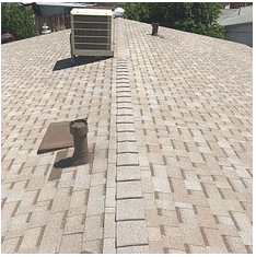 Highland, CA - New comp roof in color Amber