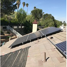 Loma Linda, CA - Tile re-felt / Solar repair