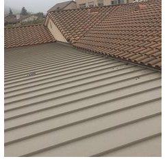 Riverside, CA - Metal roof repair