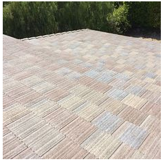 Norco, CA - New tile roof in color Nantucket Blend