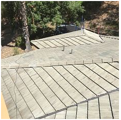 Riverside, CA - Re-felt for tile roof.