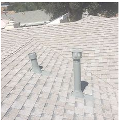 Corona, CA - New comp roof in color Oyster Shell