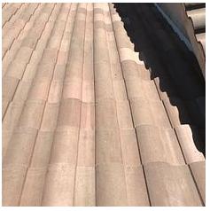 Riverside, CA - Tile roof repair using 2 layers of 30lb Fontana Felt paper and existing Boral tiles.