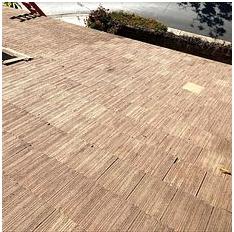 Corona, CA - Tile re-felt using 30lb Fontana felt paper and existing Boral tiles.