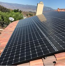Redlands, CA - New tile roof using Boral SBS Underlayment  and Boral S Tile in Santa Catarina Blend. 