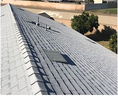 Riverside, CA - New comp roof using Owens Corning Titanium UDL30 and Owens Corning Tru Def Duration Sure Nail Shingle Roof System in color Shasta White.