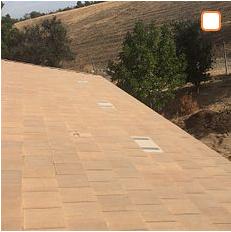 Corona, CA - Tile repair using 30lb Fontana Felt Paper and Boral Tile Seal SA Underlayment and existing Boral tiles.