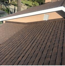 Fontana, CA - New comp roof using Owens Corning Titanium UDL30 and Owens Corning Tru Def Duration Sure Nail Shingle Roof System in color Forest Brown