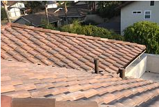 Corona, CA - New tile roof using Boral Tile Seal SA Underlayment and Monier Standard Weight Concrete Tile #3280