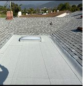 Highland, CA - partial Re-roof using Owens Corning Deck Seal SA Ply Base and Deck Seal SBS Cap Sheet Granulated