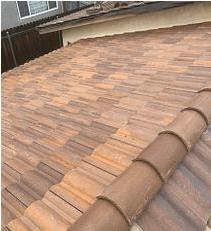 Moreno Valley, CA - Tile Re-felt using 30lb Fontana Felt Paper and existing tile.