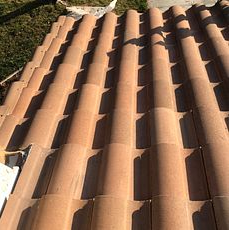 Moreno Valley, CA - Tile repair using Owens Corning Weather Lock - Ice and Water Shield, 30lb Fontana Felt Paper and existing Boral tile