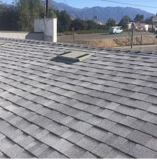 Yucaipa, CA - New comp roof using Owens Corning Titanuim UDL30 and Owens Corning Tru Def Duration Sure Nail Shingle Roof System in color Sierra Grey