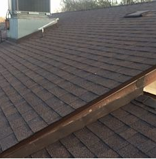 Riverside, CA - This is the final result using Owens Corning Tru Def Duration Sure Nail Shingle Roof System in color Forest Brown.
