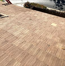 Corona, CA - This is the finished results of the re-felt using the existing Boral tiles.