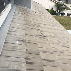 Corona, CA - Customer called in for a leak repair. After further review, our technician found the underlayment to be eroded and recommended a re-felt