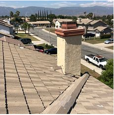 Rialto, CA - Customer called because of a few leaks he noticed. After further review, our technician found that thy needed a valley repair and tile maintenance.