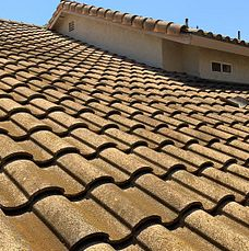 Corona, CA - Customer had a few leak and loose tiles they were concerned about. After further review, our technician found the felt paper underneath was completely eroded and recommended a re-felt.