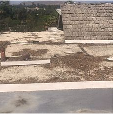 Riverside, CA - Customer called in for a few leak repairs. After further review, our technician found that the roof was too old and recommended a new roof.