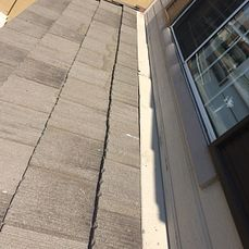 Chino Hills, CA - After making sure the underlayment has been installed properly our men reinstalled the existing Boral concrete tiles. They used 30lb Fontana felt paper for this repair.