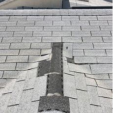 Corona, CA - Our technician went out to review a leak for a customer in Corona. Upon inspection he noticed missing shingles in the area where the leak was reported. The longer the area is exposed to the elements, the more damage it can cause to not only your roof but to the interior of your home as well.